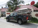picture of our 4x4 pick-up truck for transport and personal tours